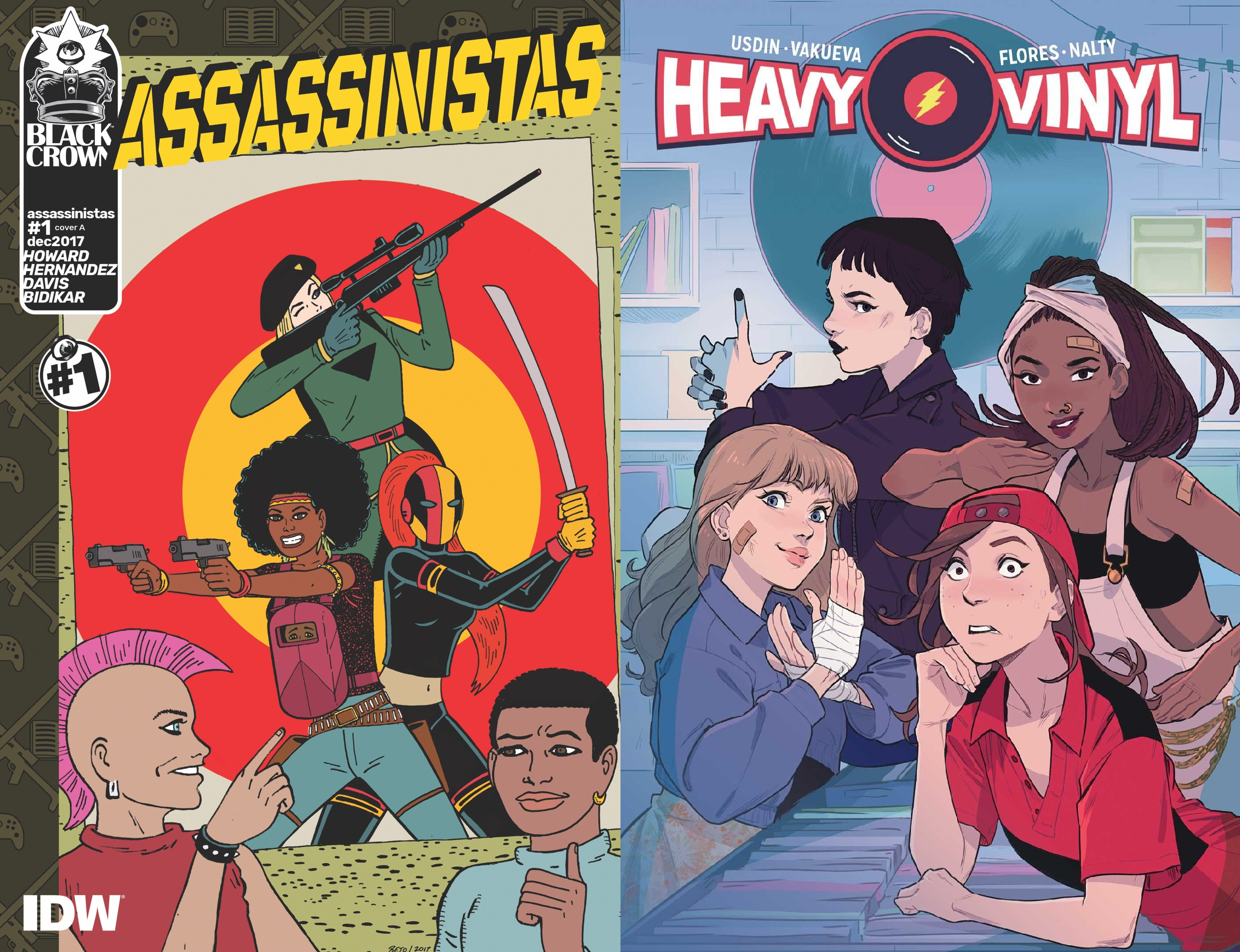 Book vs. Book 1 | Assassinistas vs Heavy Vinyl
