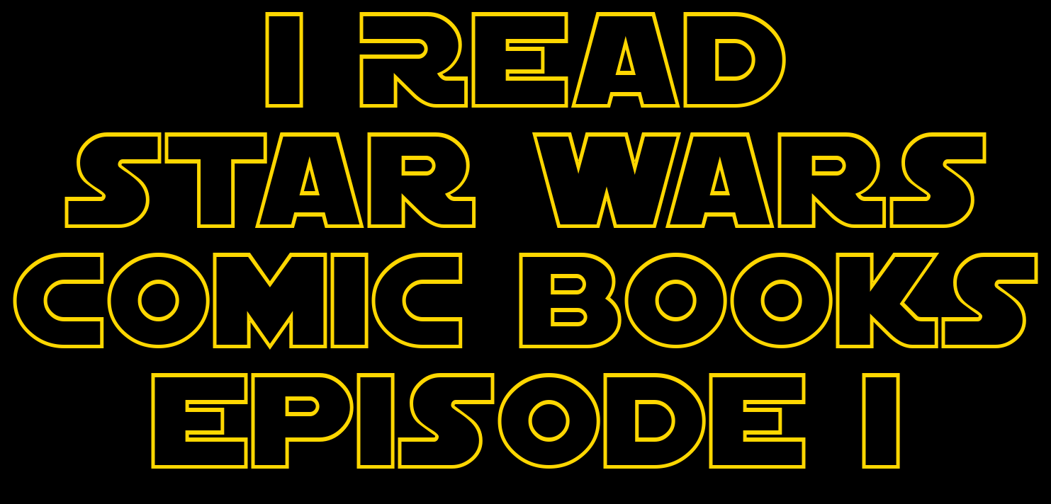 I Read Star Wars Comic Books Episode I | Obi-Wan and Anakin