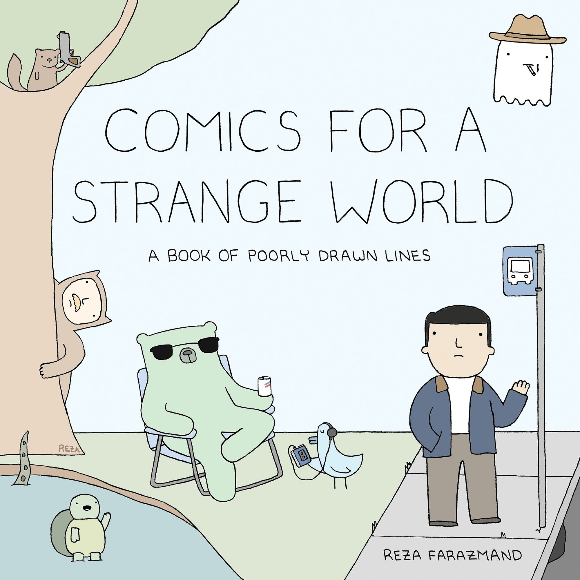 Episode 228 | Goodreads Book of the Month: Comics For A Strange World: A Book of Poorly Drawn Lines