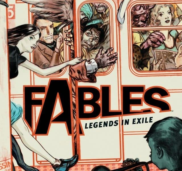 Episode 242 | Goodreads Book of the Month: Fables Vol. 1: Legends in Exile