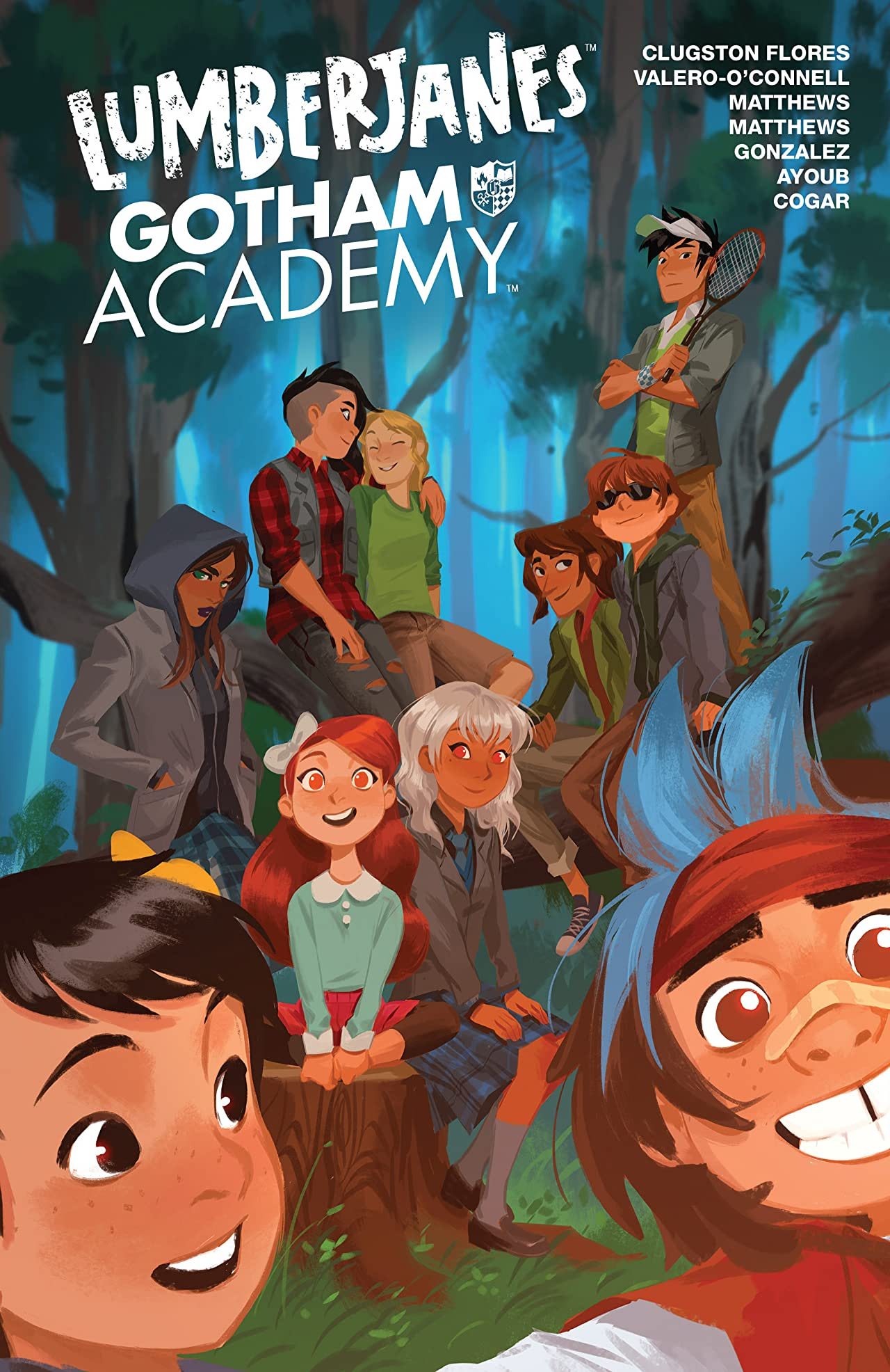 Episode 252 | Goodreads Book of the Month: Lumberjanes/Gotham Academy Vol 1.