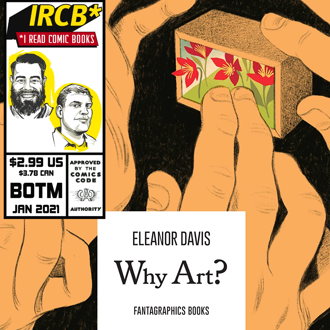 January 2021 Goodreads Book of the Month: Why Art?