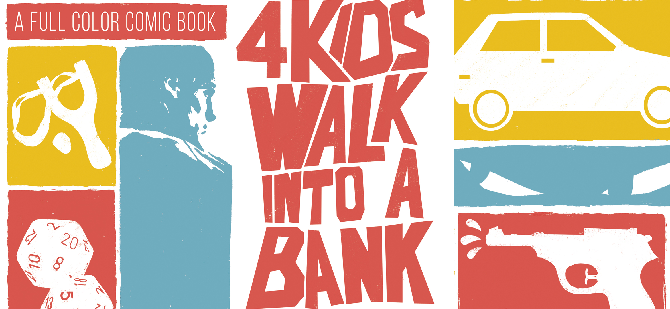 Episode 184 | Goodreads Book of the Month – 4 Kids Walk Into A Bank