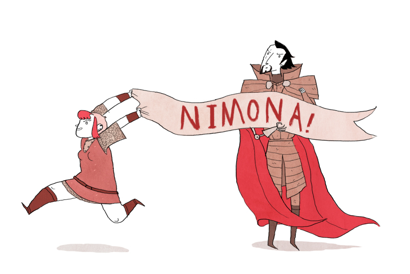 Episode 166 | Goodreads Book of the Month: Nimona